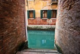 Canals and windows of Venice