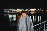 A pair of lovers on the waterfront - 227137242