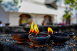 Candles in Dambulla