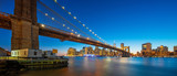 brooklyn bridge with manhattan at night - 227178047