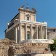 Quadro Roman Temple & Church