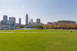 Panorama of city Cleveland, Ohio, USA