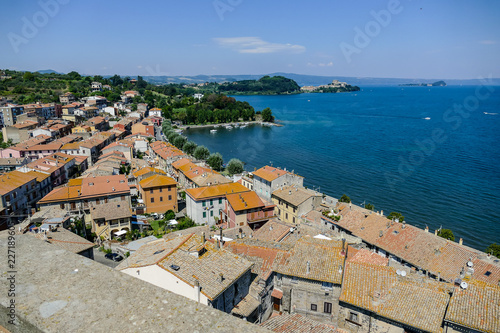 view of the city of croatia, digital photo picture as a background - 227189605