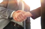 Business partnership meeting concept. Image businessmans handsha - 227226036