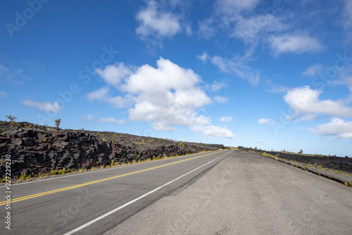 Chain of Craters Road, volcano,Big Island Hawaii