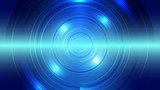 Abstract blue light and shade creative technology background. Vector illustration. - 227254838