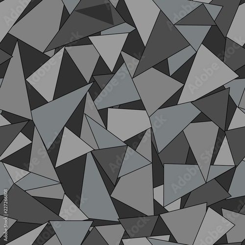 fototapeta na ścianę Colorful geometric abstract seamless pattern