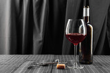 bottles and glasses of wine - 227267298