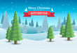 Merry Christmas cover art, Happy new year background, Vector illustration - 227274865