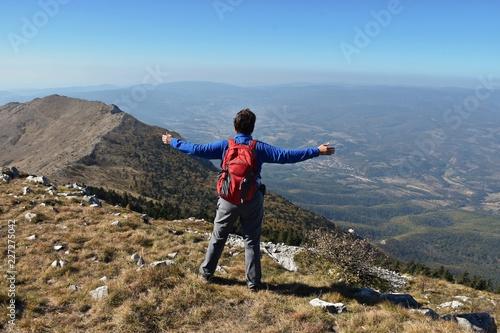 Hiking on Rtanj mountain in Serbia