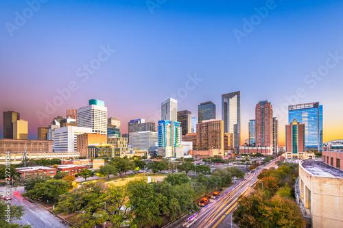 Fridge magnet Houston, Texas, USA Skyline