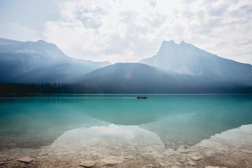 Lake reflection