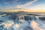 Cape Town Table Mountain beach sunset