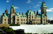 Canadian Parliament East Wing Snow Winter