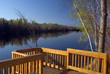 Gatineau River Quebec Near Ottawa Canada