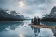 Spirit Island - Alberta - Maligne Lake