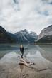 Quadro Kinney Lake Mount Robson