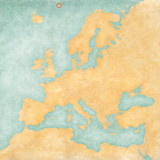 Map of Europe - Jan Mayen