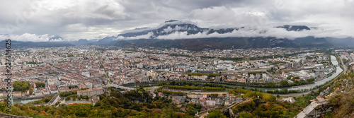 view of Grenoble since the Bastille - 227314625
