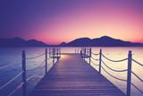wunderschöner Holzsteg am See