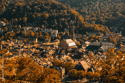 Foto Murales Herbstliche Altstadt