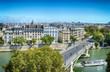 Paris at sunny day.