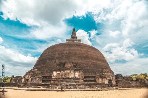 ruins of temple Sri Lanka Ceylon