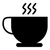 Coffee Cup Morning Breakfast Cup vector icon - 227351406