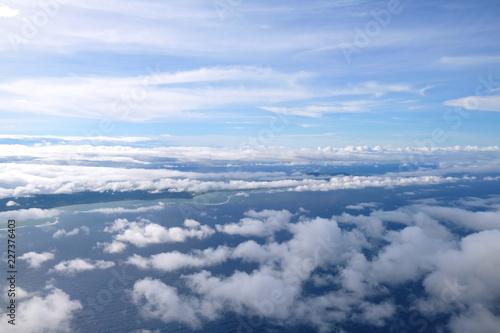 飛行機から見えるうろこ雲 - 227376403