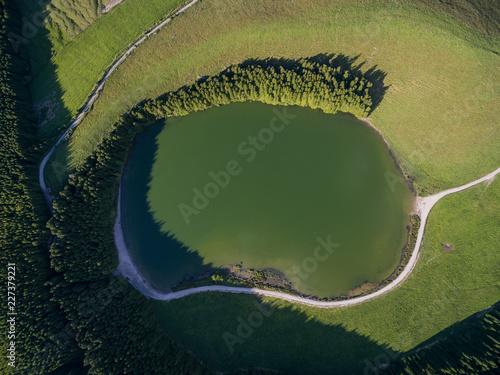 Foto Murales Lakes Aerial View