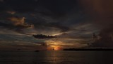 Timelapse in Front of Sunset Key in Florida - 227388243