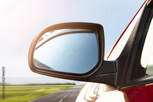 Rear View Mirror Of A Car - 227406070