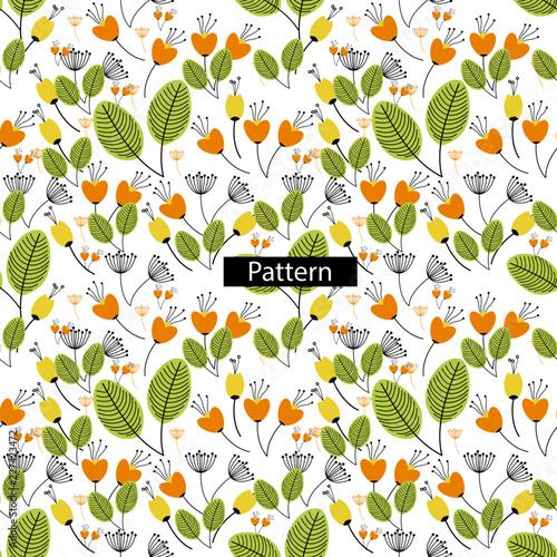 Seamless Floral Pattern - 227423472