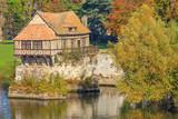 Vernon, le vieux moulin sur la Seine, département de l'Eure, Normandie
