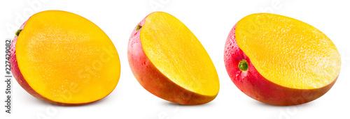 Leinwanddruck Bild mango fruit isolated