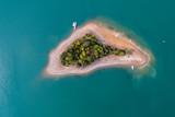 Solina, Wyspa Mala aerial view