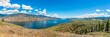 Panoramic view at the Kamloops lake in British Columbia - Canada