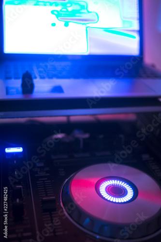 DJ deejay in wedding party - 227482425