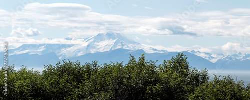 mountains across Cook Inlet - 227496248