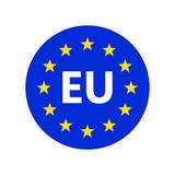 European union logo. Vector illustration. - 227508022