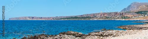 Cala di Punta Lunga coast, Macari, Sicily, Italy - 227545232