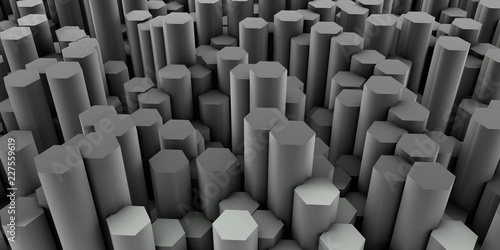 Hexagon Patterns - 227559619