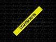 Neutrales Bild auf dem das Wort Startschuss abgebildet ist. Abstrakte Illustration - 227604228