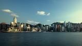 Hong Kong sunset, time lapse