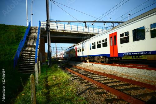 Trein spoorweg