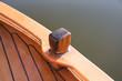 Details eines Segelbootes