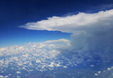 Storm Cloud viewed from Airplane - 227618693