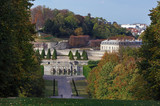 Saint Cloud park in Paris suburb