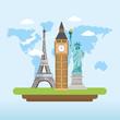 travel global explore and fun tourist