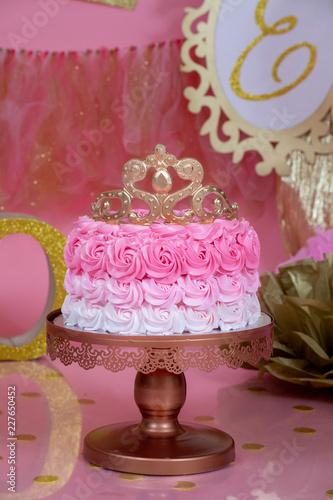 roztrzaskać ciasto princesa